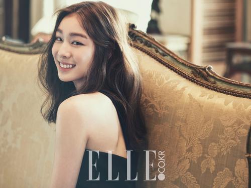 Kim Yuna pour Elle