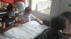 Les Cm2a préparent la journée à Fort-Mahon