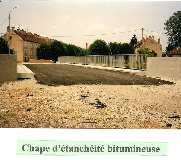 La reconstruction des ponts de Sainte-Colombe
