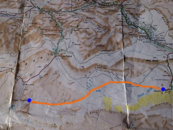 Mhamid - Foum-Tangarfa (piste et hors piste)