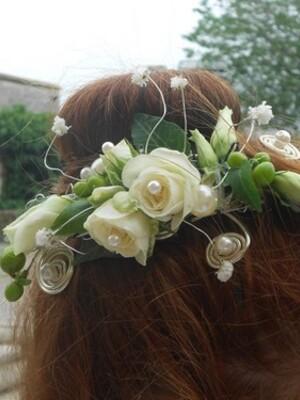 Broche florale