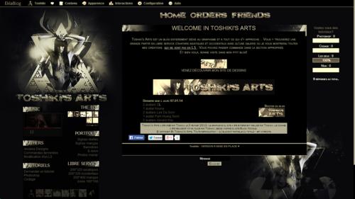 Design n°6 ▬ Black & Gold