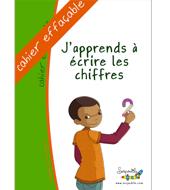Cahier pour apprendre à écrire les chiffres pour dyspraxiques et utile pour tous les enfants