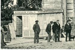 1900 :  CHERCHER UN TRAVAIL , TROUVER UN APPRENTI