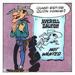 Lucky Luke VS Averell Dalton