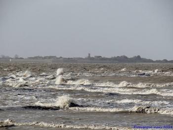 La tempête Christine à Fouras
