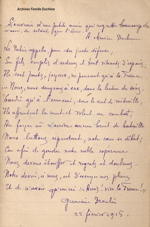06*1915 Février - Einville,  Parroy