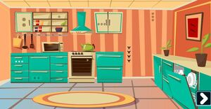 Jouer à Genie Comfy kitchen escape