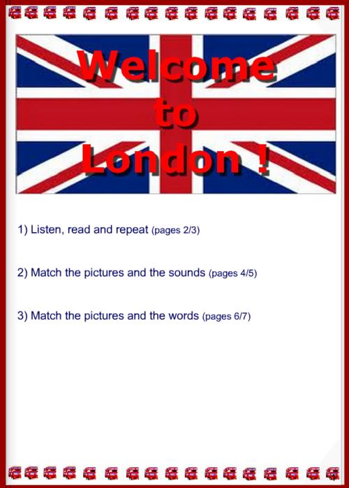 Let's visit London with François!