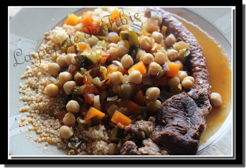 Couscous express au bœuf (Cookéo)