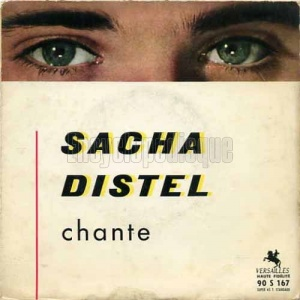 Sacha Distel, premier 45 tours