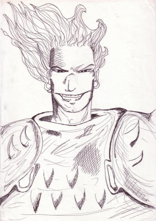 Lanfeust de Troy, croquis, 2002