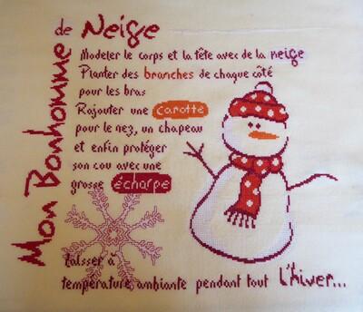 Sal Bonhomme de neige de LLP