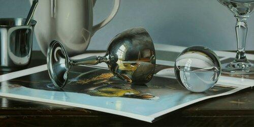Jason De Graaf et ses peintures hyper-réalistes.