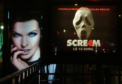 Scream affiche femme