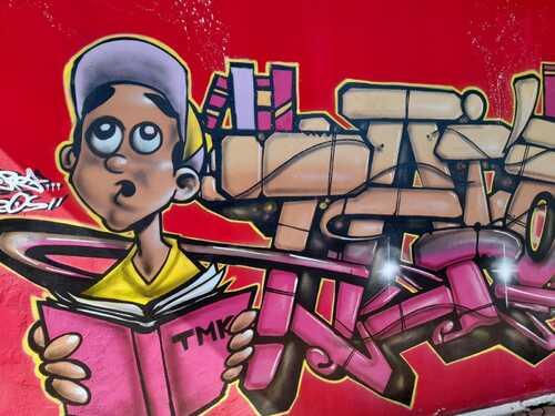 Street art Papeete