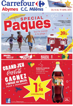 Le Catalogue de Carrefour Milénis du 8 au 19 avril 2014