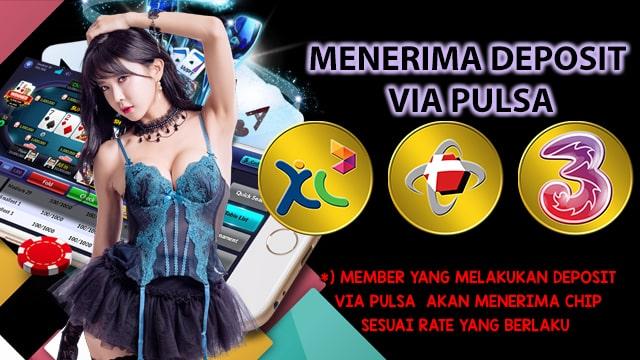 Deposit Poker Pulsa Tri