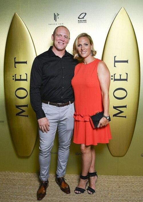 Zara et Mike Tindall en Australie