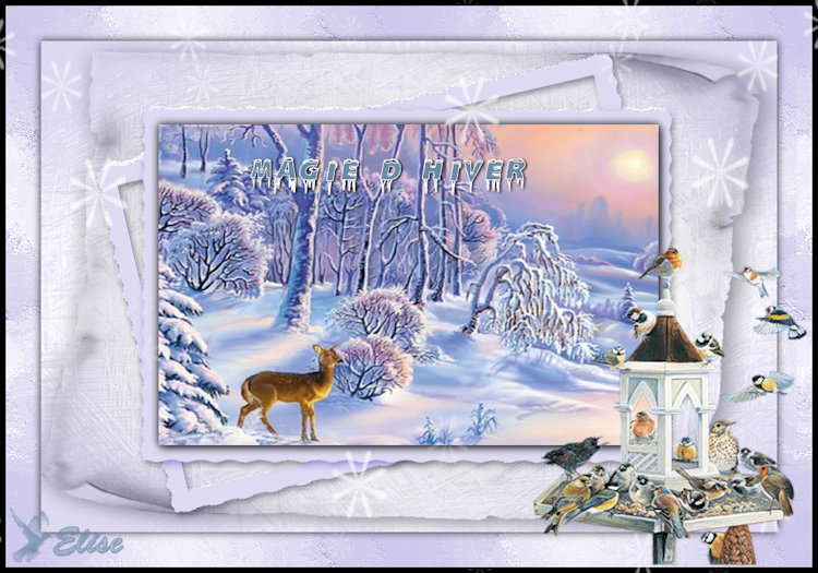 Winter magic de Lulu chez Libellule
