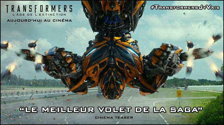 TRANSFORMERS : L'ÂGE DE L'EXTINCTION - Featurette « TOURNAGE EN CHINE » LE 16 JUILLET 2014 AU CINEMA