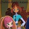 Stella, tecna, Musa et Layla en réunion avec faragonda