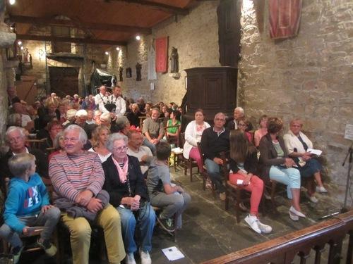Chapelle comble et comblée avec les Sonerien an Trev