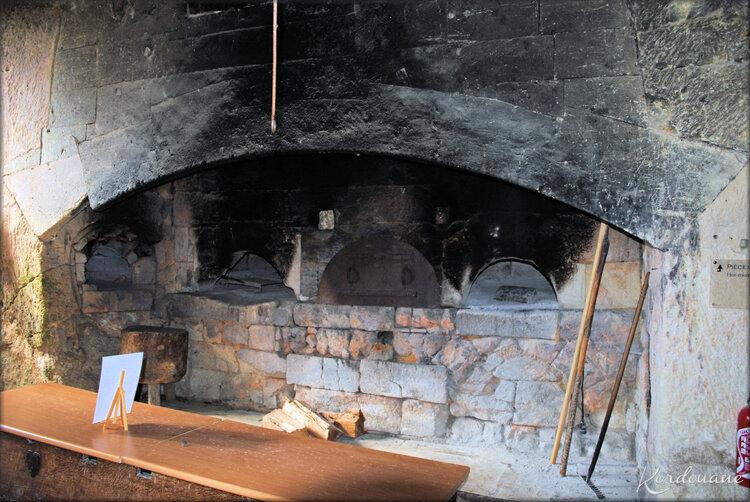 Photo de la cuisine de la forteresse souterraine