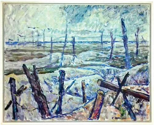 Alexandre Auguste Le Blouch: la plage de Naso