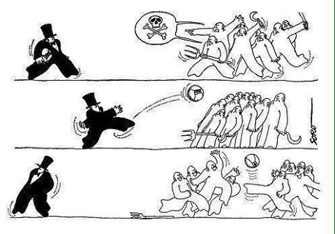 """Le sport, opium du peuple"""