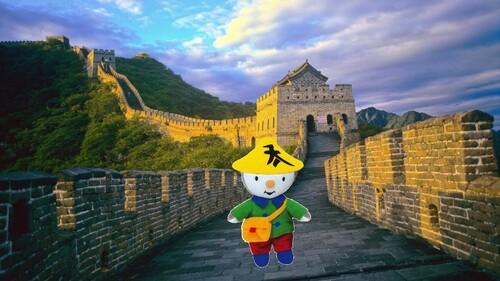 T'choupi en Chine