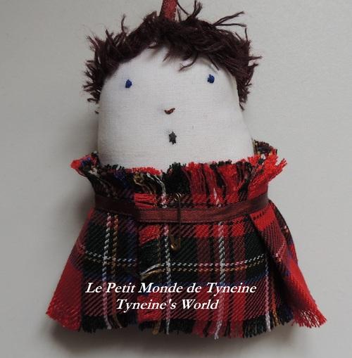 """""""Little Jamie"""" ... déco écossaise"""