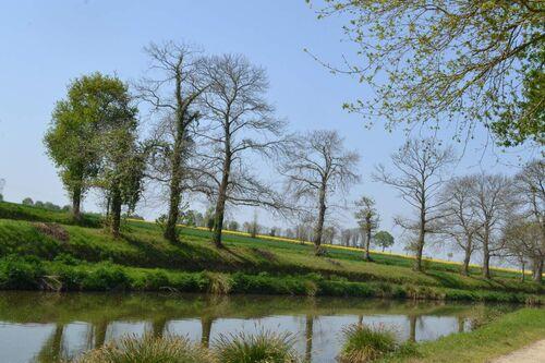 Les onze écluses de Hédé-Bazouge (Ile-et-Vilaine)