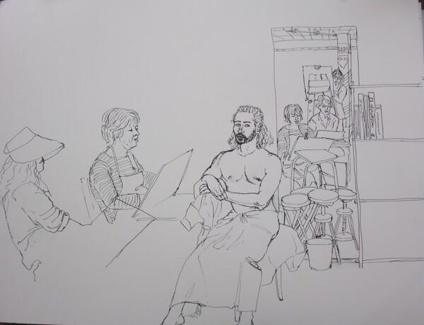 Jeudi - Scène d'atelier : Dimitri