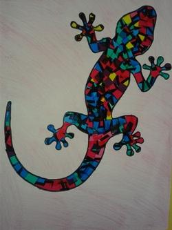 La salamandre de Gaudi