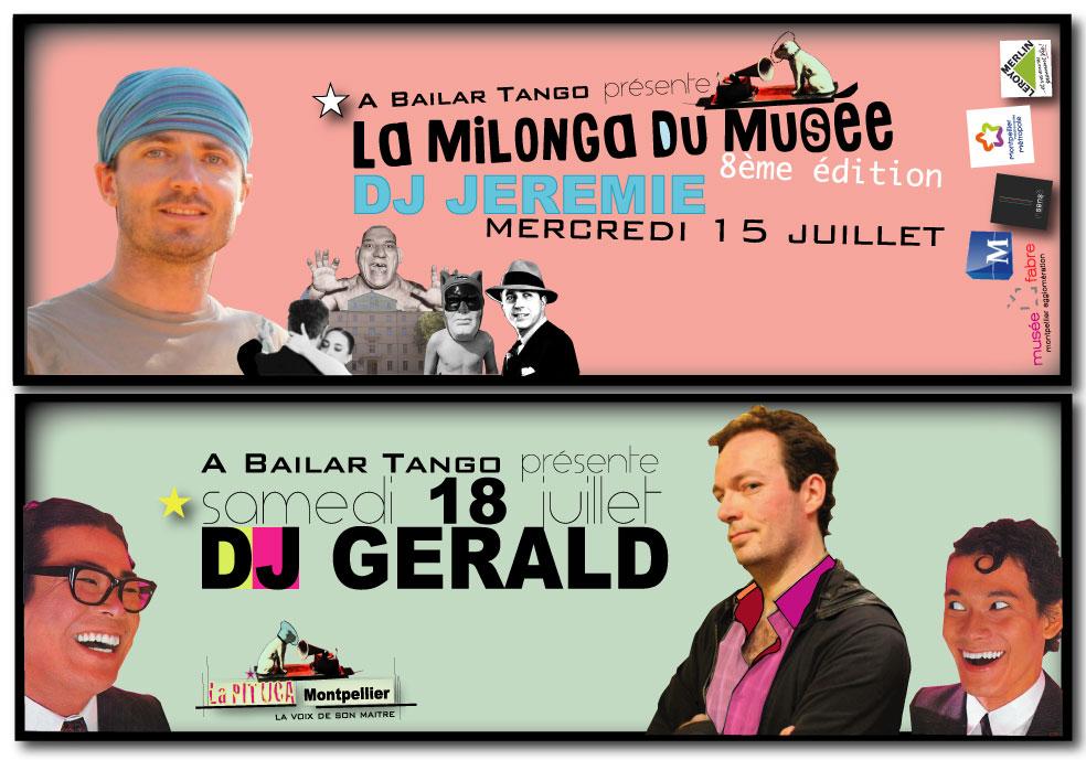 ★ Merc 15/7 DJ JEREMIE à la MDM, Sam 18/7 DJ GERALD à La PITUCA ★