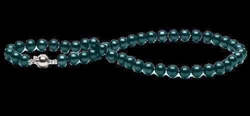 Tubes colliers de perles