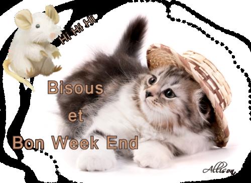 Bon week end ma belle !