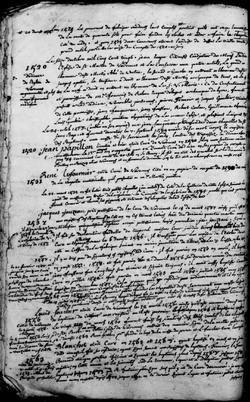 Tables des Curés de Varennes-sur-Loire (49) de 1419 à 1736