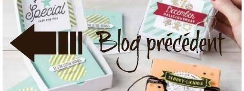 """Blog Hop """"Boîte à pizza"""""""