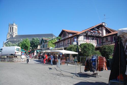 Jour de marché à Léon