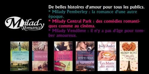 Bibliothèque Milady Romance