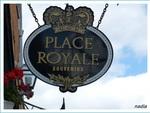Le vieux Québec, place Royale. 18 juin.