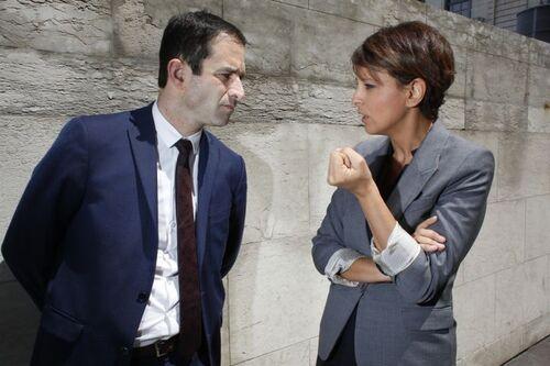 """Benoît Hamon appel Najat Vallaud-Belkacem à """"apaiser l'école"""""""
