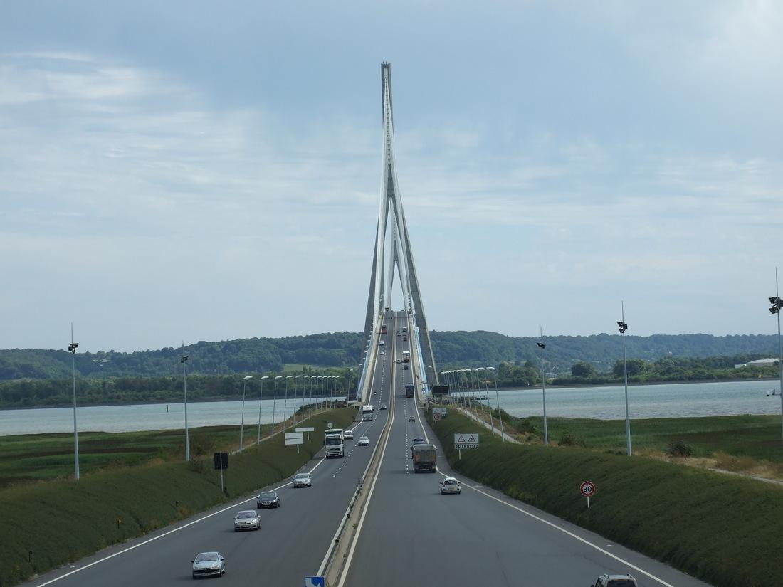 Le pont de Normandie /