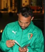 avant Sfax les supporters encouragent les joueurs