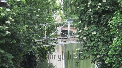 Pont sur un canal de Montargis.