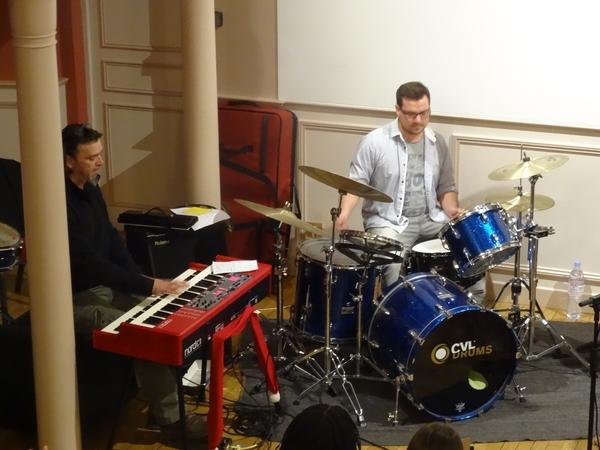 """Un très beau concert """"Rythm ande Groove"""" a ravi le public salle des Conférences..."""
