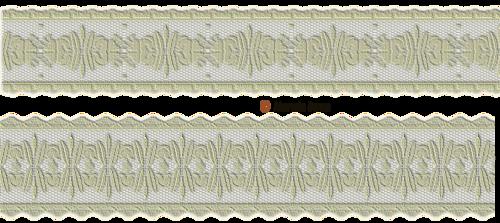 Bordures de dentelles blanche