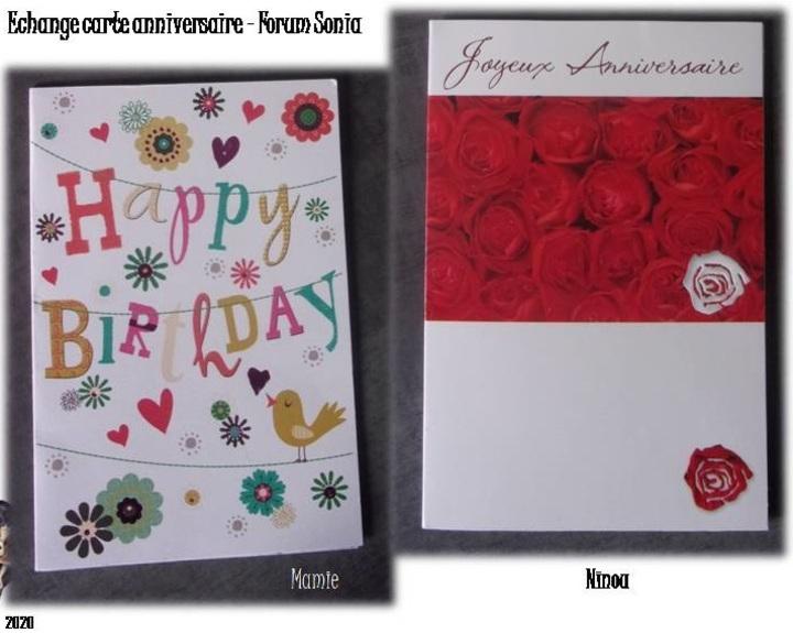 Vos cartes pou rmon anniversaire